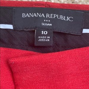 Size 10 Red pants
